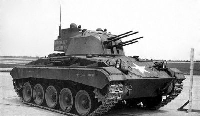 Prototyp T77 Multiple .50 caliber Gun Motor Carriage
