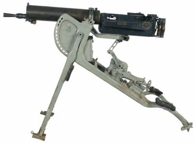 Německý těžký kulomet Maxim vzor 08