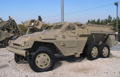 Obrněné vozidlo Nimda Shoet příbuzné typu BTR-152