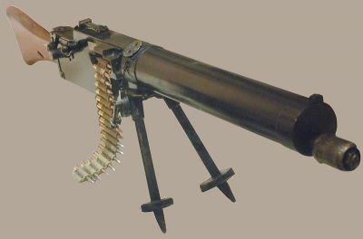 Odlehčený kulomet Maxim 08-15