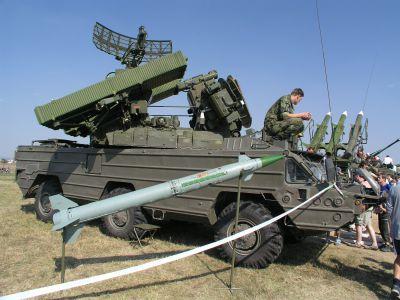 Systém 9K33M3 Osa-AKM vyřazený z Armády ČR (foto: Marian Visingr)