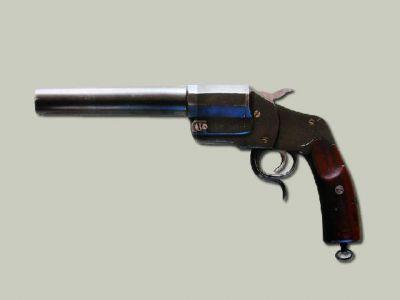 Osvětlovací pistole Steyr1894 označená jako vzor 1904