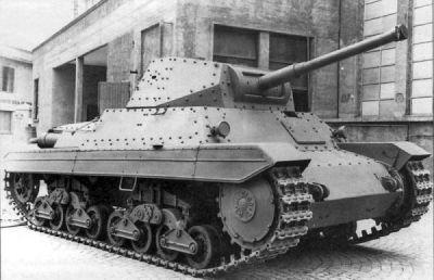 Carro Armato P.26/40