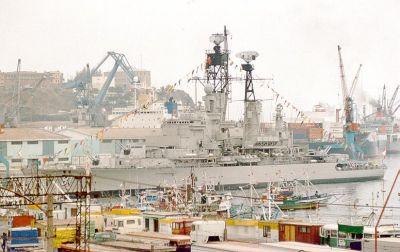 BAP Almirante Grau (CLM-81) v roce 1993