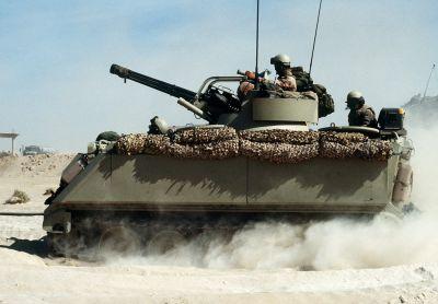 Americký systém M163 PIVADS během války v Zálivu