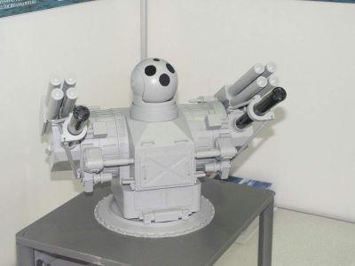 Nový obranný systém Palma s raketami Sosna-R