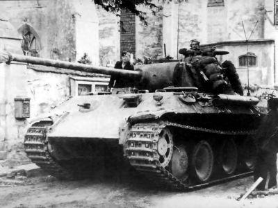 Německý střední tank Pz V Panther Ausf. A