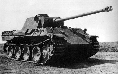Německý střední tank Pz V Panther Ausf. D