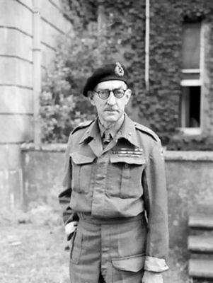 Generál Percy Hobart, velitel britské 79. obrněné divize