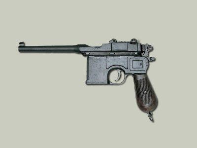 Pistole Mauser C96