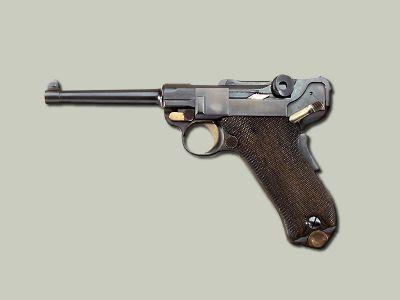 Pistole Parabellum P-08 Luger