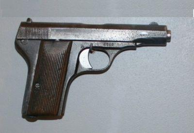 Pistole Praga 7,65 mm