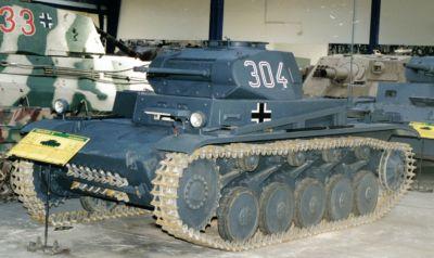 Panzerkampfwagen II (resp. PzKpfw II či SdKfz 121)
