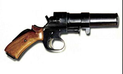 Raketová pistole vzor 28, letecká
