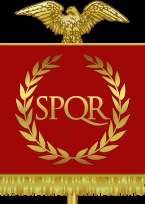 Římská republika - vlajka