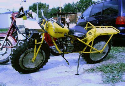 Americký motocykl Rokon Mk 3 s pohonem 2×2 (foto: Lukáš Visingr)