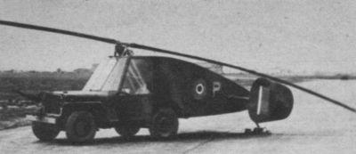 Britský rotorový kluzák Hafner Rotabuggy