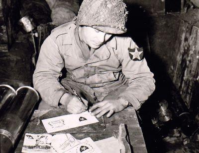 Voják a Vánoční pošta