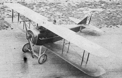 SPAD S.XII představoval na pohled fakticky normální dvouplošník