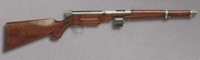 Samopal 9 mm konstrukce Josefa Netsche 1919