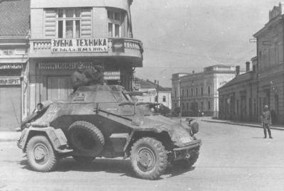 Německá armáda nasadila obrněnce SdKfz 222 i při tažení do SSSR