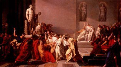 Smrt Caesara od Vincenza Camucciniho