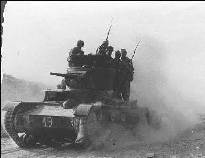 T-26 republikánských jednotek