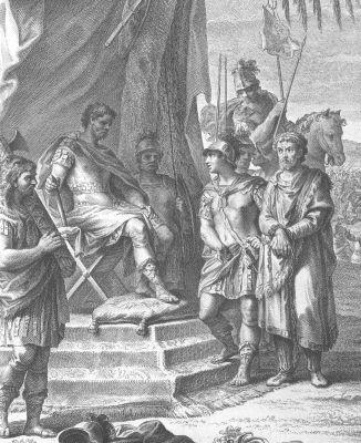 Sulla beroucí Jugurthu do zajetí