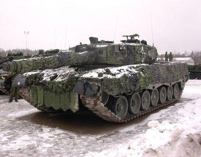 Švédský Leopard 2A4