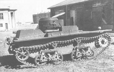 Obojživelník T-38 byl řešen jako velmi malé a kompaktní vozidlo