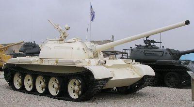 Ukořistěný T-54 v izraelském muzeu