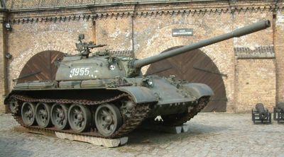 T-55A v Muzeum Uzbrojenia w Poznaniu