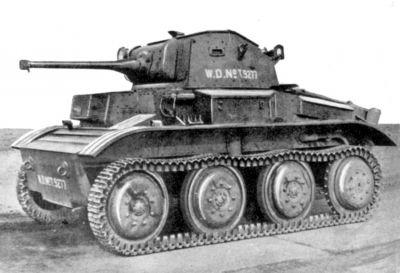 Britský výsadkový tank Mk VII Tetrarch
