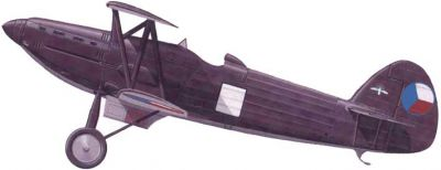 Avia B-534 první prototyp