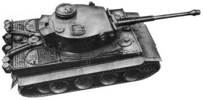Německý těžký tank Panzerkampfwagen VI Tiger
