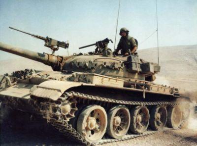 Tank Tiran 6 vzniklý modernizací ukořistěného T-62