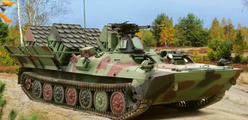 Transporter minowania narzutowego KROTON (ze stránek hsw.pl)