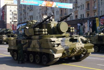 Hybridní systém 2K22 Treugolnik alias Tunguska