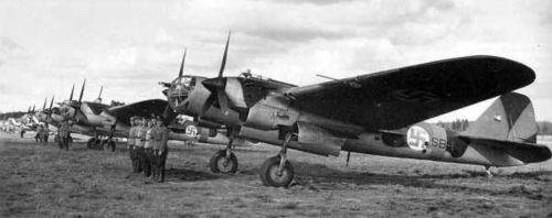 Tupolev SB 2M-103 ve finských službách