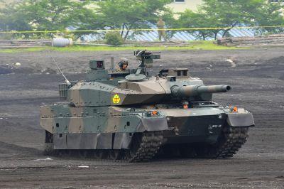 Sériová podoba nového tanku Type 10