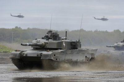 Dnes standardní japonský tank Type 90