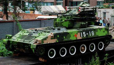 Čínský samohybný protiletadlový systém Type 95