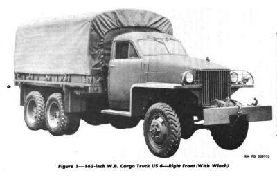 Studebaker US6 Cargo U4