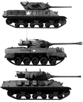 Americké stíhače tanků