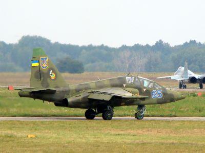ukrajinský Su-25UB