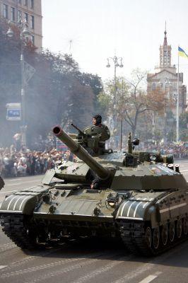 Ukrajinský T-64BM Bulat