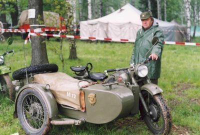 Sovětský motocykl Ural M-72 (foto: Přemysl Liška)