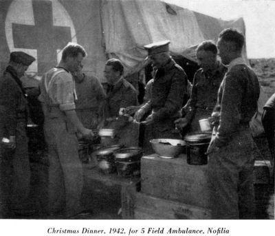 Vojáci o Vánocích 1942