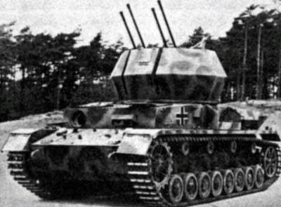 Německý systém Wirbelwind (alias Flakpanzer IV)