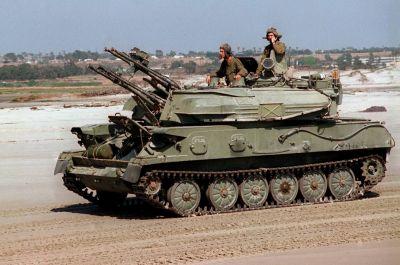 Sovětský protiletadlový prostředek ZSU-23-4 Šilka